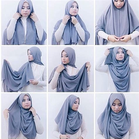 video tutorial hijab paris syar i 10 tutorial hijab syar i namun tetap fashionable terbaru 2017