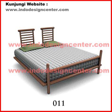 Kasur Jepara tempat tidur dengan kanopi yang manis dan romantis tempat
