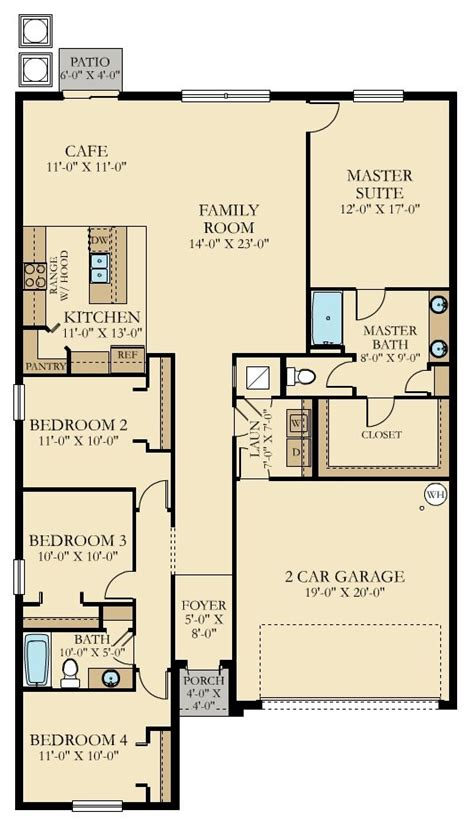 lennar homes floor plans florida hartford new home plan in stonegate at ayersworth by lennar