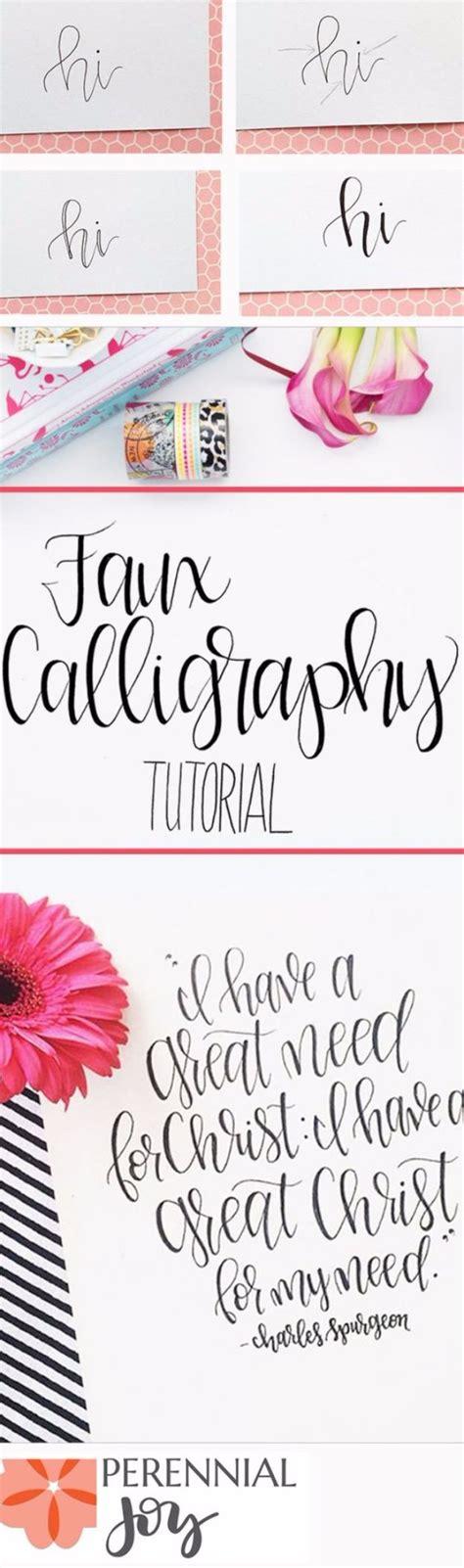 Brush Lettering Tutorial