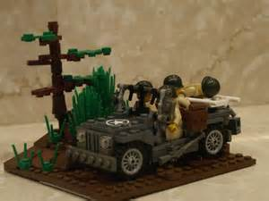 Lego Army Jeep Willys Mb Wwii Us Army Jeep A Lego 174 Creation By Jeff