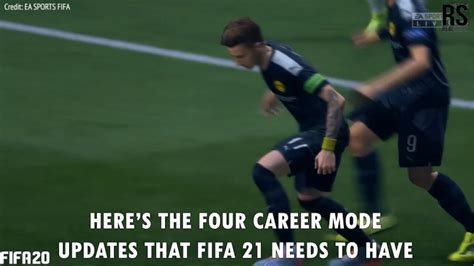 fifa   needed updates  career mode