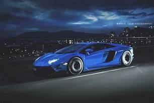 Lamborghini Aventador Chrome Blue Chrome Blue Lamborghini Aventador In Motion Sssupersports