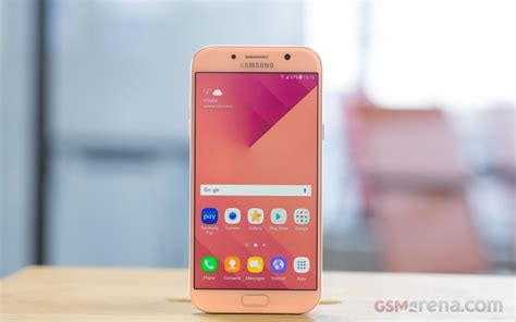 Samsung Galaxy A7 Review samsung galaxy a7 2017 review user interface