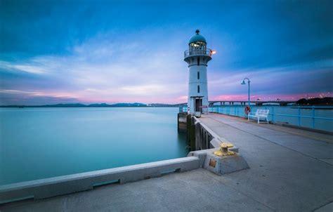 wallpaper lighthouse singapore singapore tuas johor