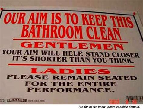 funny bathroom sayings signs hilariously funny signs gallery 28 really funny pictures