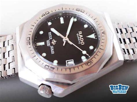 mega vintage rado sports diver 150m w