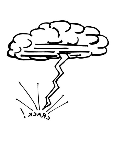 thunderstorm coloring pages coloring pages
