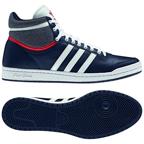 adidas originals top ten hi sleek shoes trainers womens blue ebay