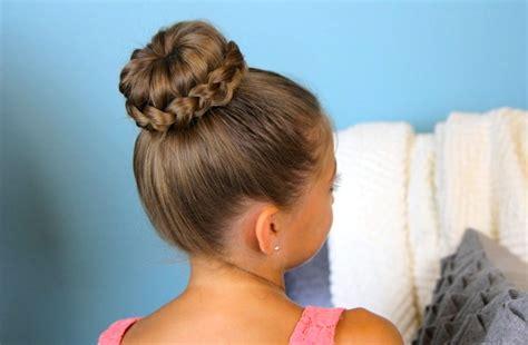 braid wrapped chignon updos cute girls hairstyles lace braided bun cute updo hairstyles cute girls