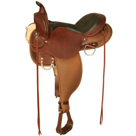 horse saddle 6970 el co cordura gaited trail high horse