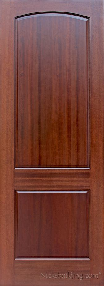 Interior Mahogany Doors Two Panel Doors Interior Doors Mahogany