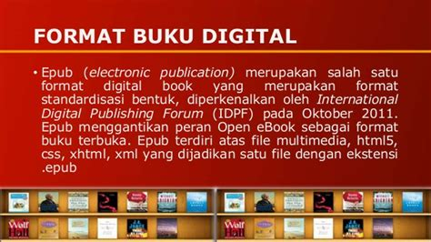 Format Buku Epub | buku digital