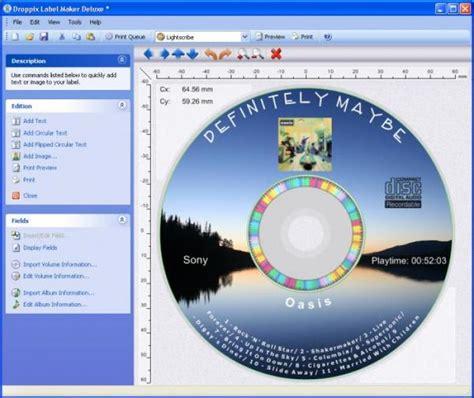 cd label maker software free download droppix label maker download
