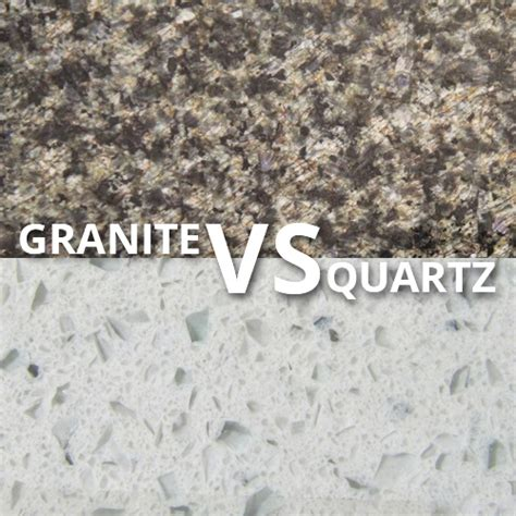 granite vs quartz counter tops