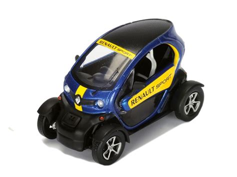 renault twizy blue renault twizy renault sport 2015 spark model 1 43