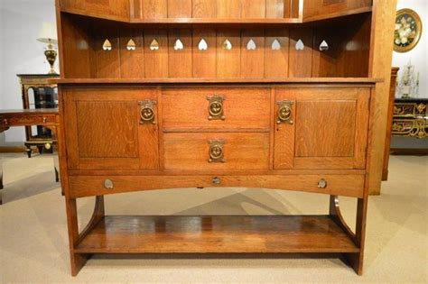 Arts And Crafts Dresser oak arts and crafts period scottish school sideboard or