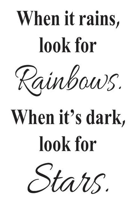 inspirational quote stencils printable primitive inspirational stencil when it rains look for