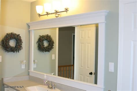 ideas for framing a large bathroom mirror framed bathroom mirrors ideas weifeng furniture