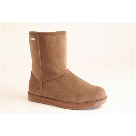emu australia emu paterson lo boot in waterproof suede