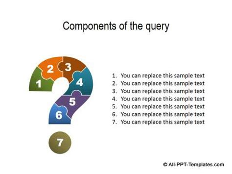question powerpoint template powerpoint questions slide templates