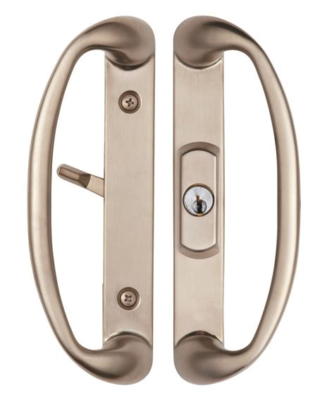 sonoma sliding door handle with key lock system