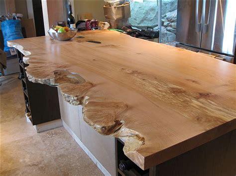live edge character slab kitchen island live edge slab