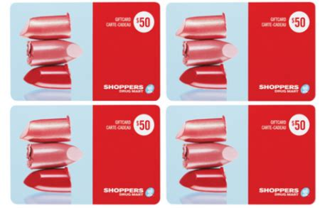 Shoppers Gift Cards - win free gift cards more from shoppers drug mart free stuff finder canada