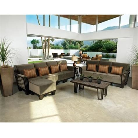outdoor living room sets 17 best images about outdoor sectionals on pinterest