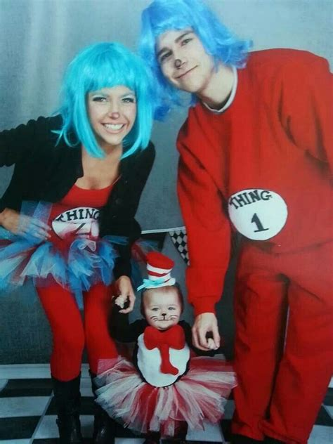 dr seuss family family halloween costumes  halloween