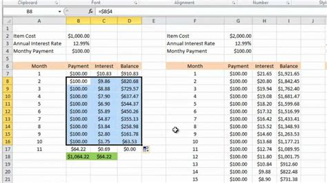 amortization schedule calculator with balloon payment