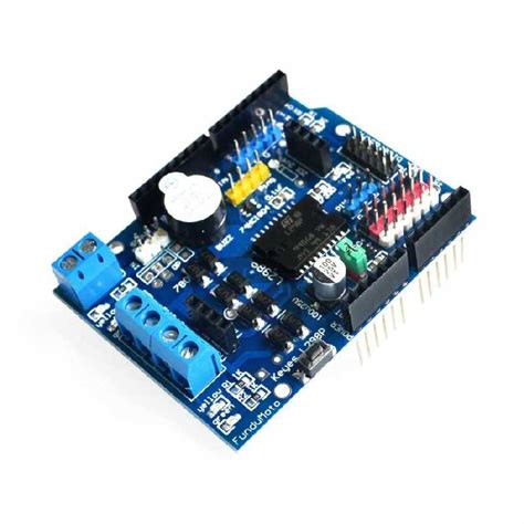 code for arduino motor shield buy arduino smd l298 dual motor driver shield with cheap price