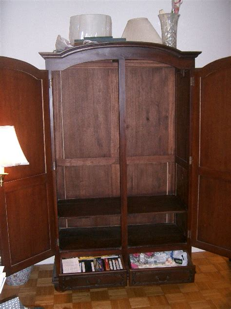 Antique Wardrobes Sale by Beautiful Classic Armoire With Original Key For Sale Antiques Classifieds