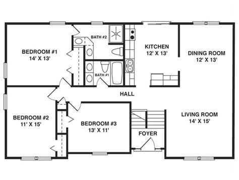 Village Builders Floor Plans by Split Foyer House Plans Smalltowndjs Com