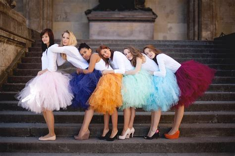 7 Terrific Tailored Shorts by Gorgeous Tulle Bridesmaid Dress Ideas Weddceremony