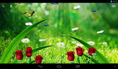 live wall garden summer garden live wallpaper android apps on play
