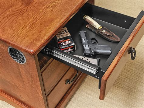 desk gun safe desk gun safe desk design ideas