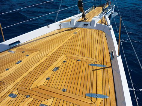 teak wood stain for boats my latest teak deck woodworking