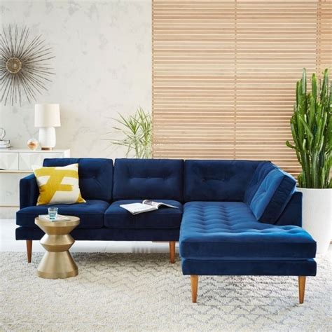 Blue Sectional Sofa With Chaise Chaise Design Blue Sectional Sofa With Chaise