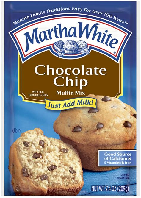 Tepung Premix Muffin Trans Chocolate 5 chocolate chip muffins martha white martha white