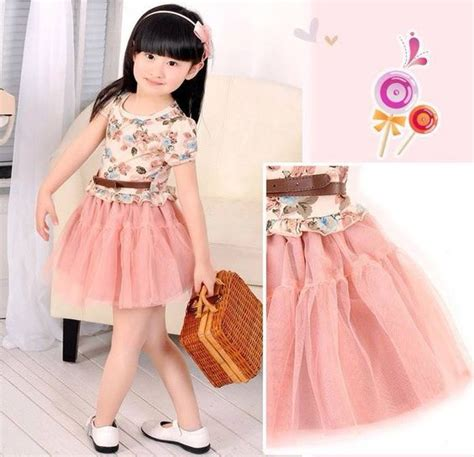 Baju Anak Korea Baju Anak Cewek Korea Style Dress Tutu Blink Tempat