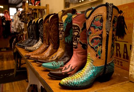 cowboy boot store 50 states in 50 days the lone state u s