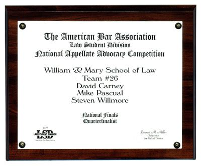 bar associations push law students back to main street quot the american bar association law student division