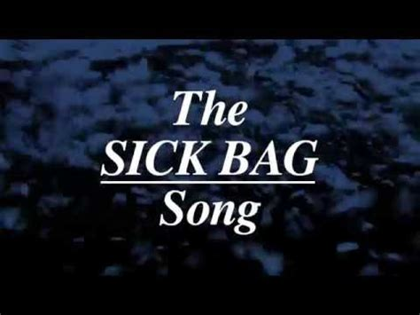 the sick bag song nick cave wrote a whole book the sick bag song on in flight barf bags flavorwire