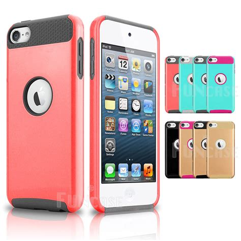 ipod box hybrid shockproof high impact rubber slim cover