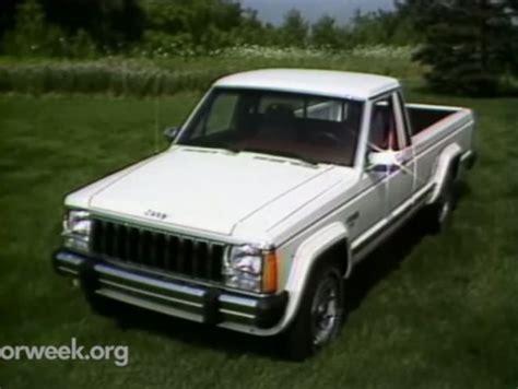 jeep comanche 2018 imcdb org 1986 jeep comanche 4x4 mj in quot motorweek 1981