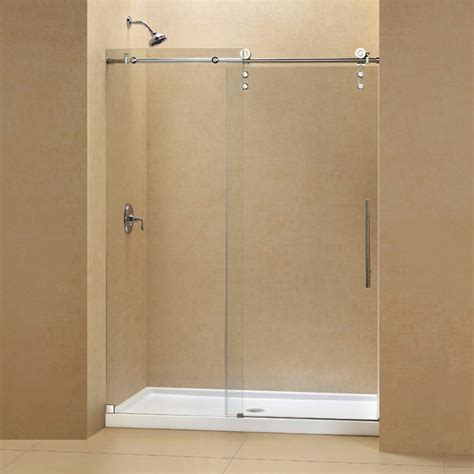 Frameless Shower Door Threshold Enigma Z Fully Frameless Sliding Shower Door Slim Line Single Threshold Shower Contemporary