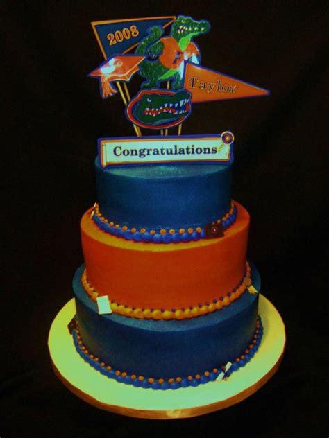 florida gator cake florida gators graduation cake cakecentral