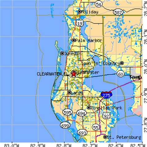 zip code map clearwater fl clearwater florida fl population data races housing