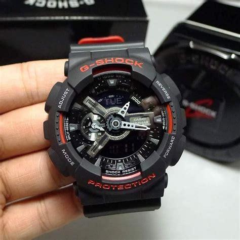 Casio G Shock Ga110 Hr rel 243 gio casio g shock ga 110hr 1a preto vermelho r 480